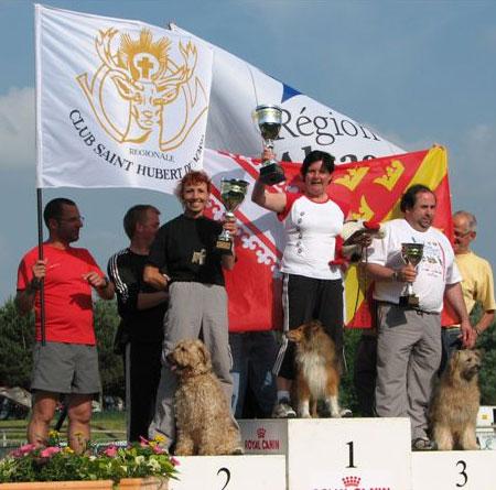 2008 corine championnat
