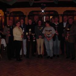 Nos Sportifs à l'Honneur de l'AG de la SCHR du 07.04.01