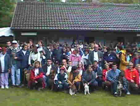 La photo de groupe avant la remise des prix